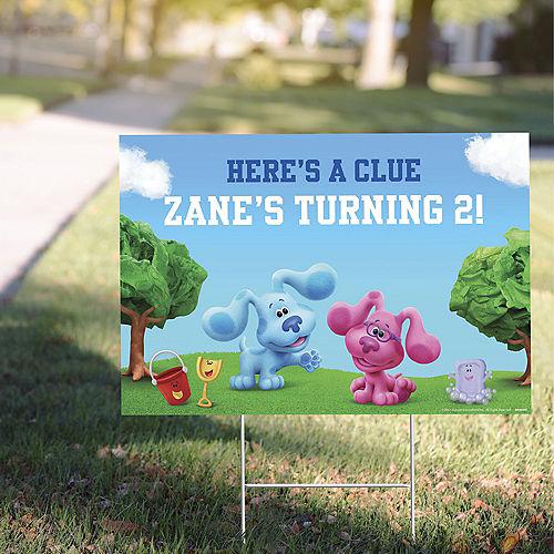 Custom Blue's Clues & You! Plastic Yard Sign Image #1