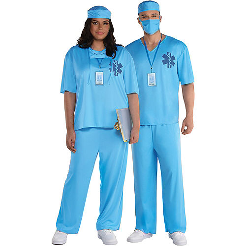Adult ER Doctor Costume Image #1