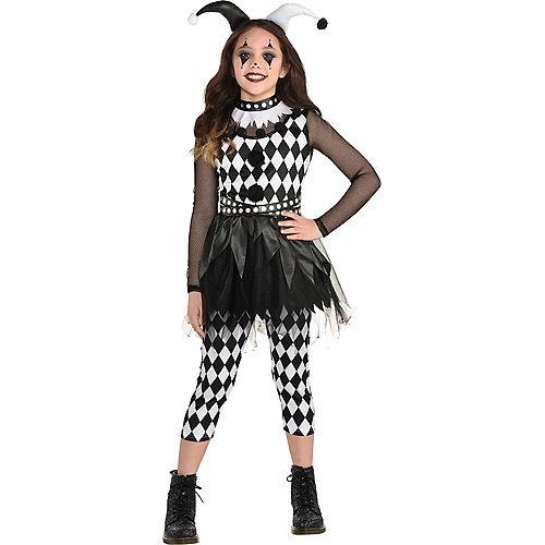 Kids' Punky Jester Costume Image #1