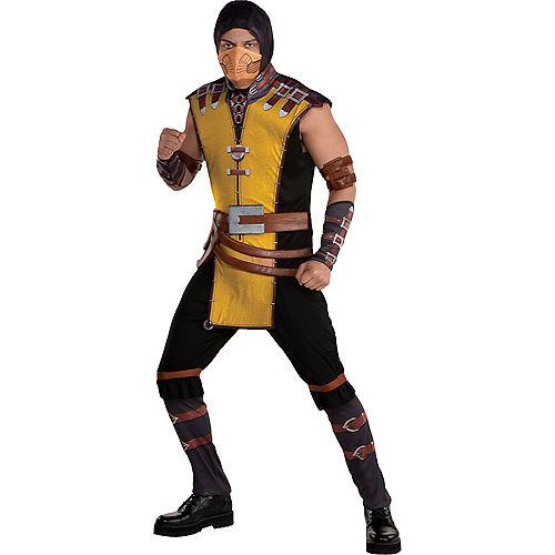 Adult Scorpion Costume - Mortal Kombat Klassic Image #1