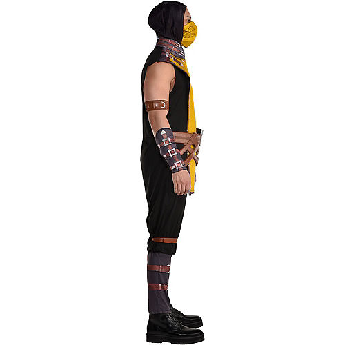 Adult Scorpion Costume - Mortal Kombat Klassic Image #3