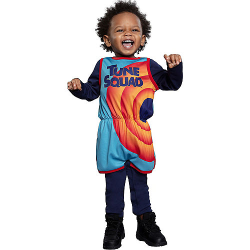 Baby Tune Squad Jersey Costume - Space Jam 2 Image #2