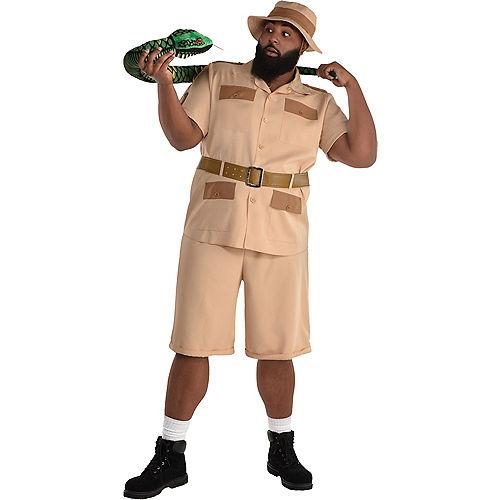 Adult Safari Guide Costume - Plus Size Image #1