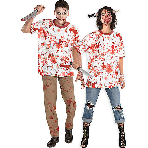 Bloody Ringer T-Shirt for Adults Image #1