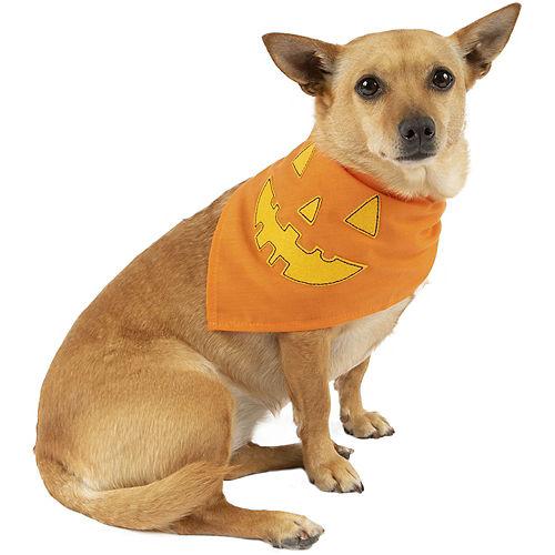 Halloween Pumpkin Bandana for Dogs Image #1