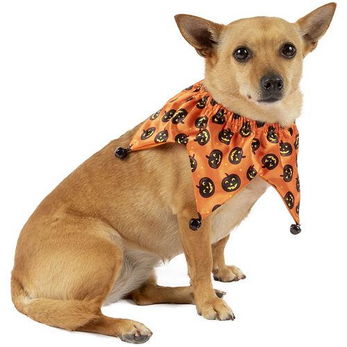 Halloween Pumpkin Jester Collar for Dogs Image #1