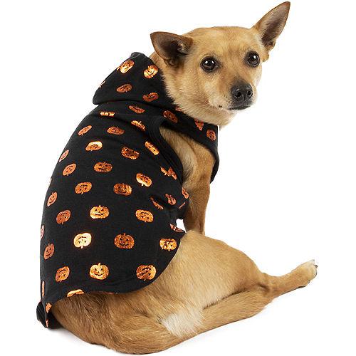 Glowing Pumpkins Halloween Hoodie for Dogs Image #1