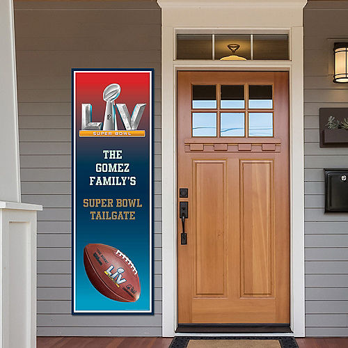 Custom Super Bowl 55 Vertical Banner Image #1