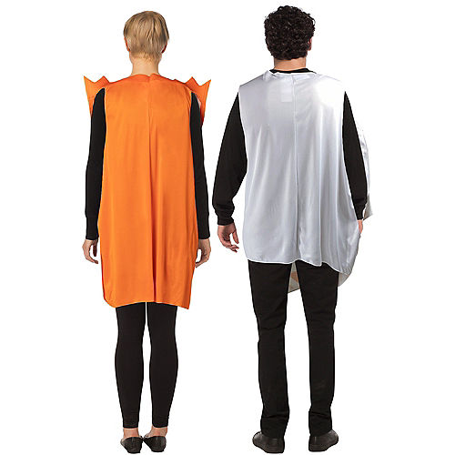 Cheesy Gordita Taco & Hot Sauce Couples Costumes for Adults - Taco Bell Image #2