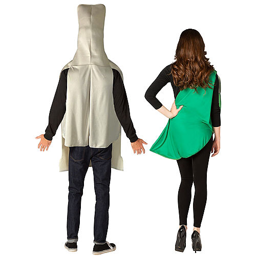 Tequila Bottle & Lime Slice Couples Costumes for Adults Image #2