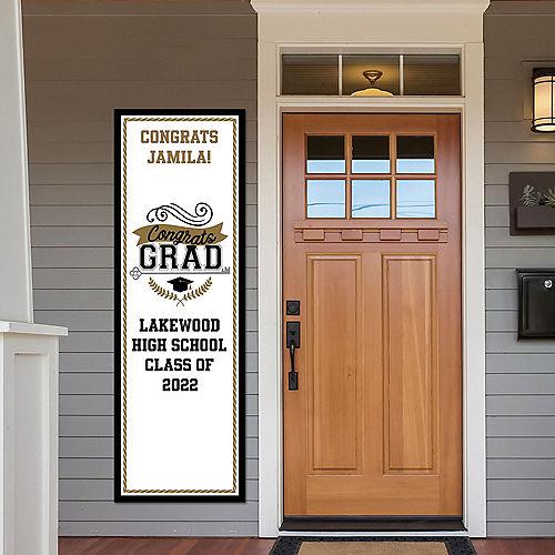 Custom Achievement is Key Graduation Vertical Banner Image #1