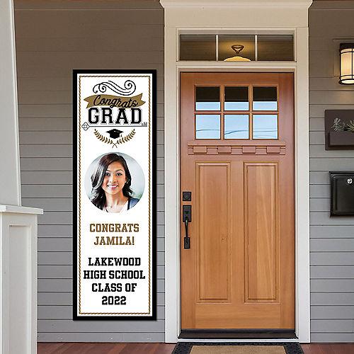 Custom Achievement is Key Graduation Photo Vertical Banner Image #1