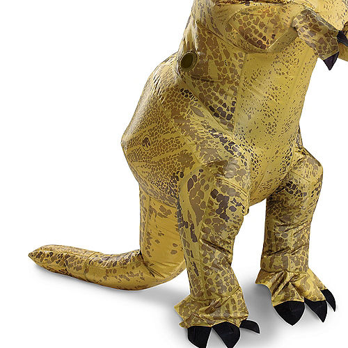 T-Rex Dinosaur Inflatable Costume for Adults - Jurassic World Image #4
