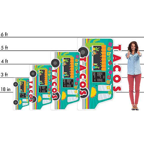 Taco Truck Cardboard Cutout, 36in x 22in - Fiesta Image #2