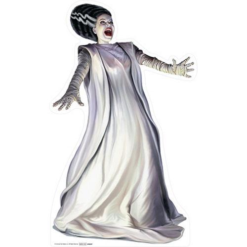 Bride of Frankenstein Life-Size Cardboard Cutout, 5ft Image #1