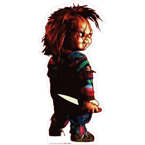 Chucky Cardboard Cutout, 4ft - Child's Play Image #1