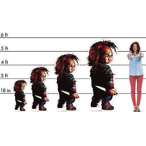 Chucky Cardboard Cutout, 4ft - Child's Play Image #2