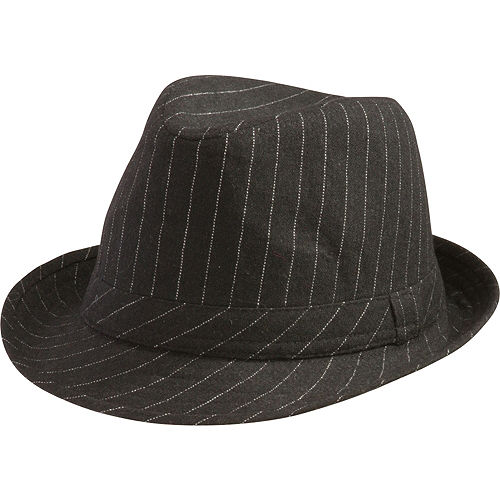 Pinstripe Fedora Hat e0c36f13179d