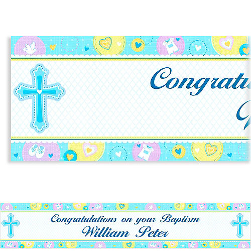 Baptism Party Supplies - Christening Decorations | Party City