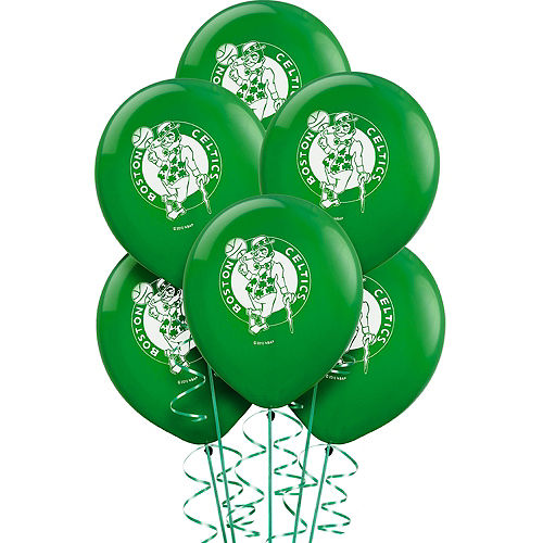Boston Celtics Balloons 6ct