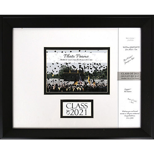 Class of 2018 Autograph Graduation Photo Frame 15 1/2in x 12 1/2in ...