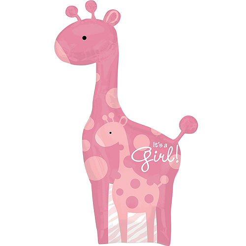 Pink Safari Baby Shower Party Supplies Party City