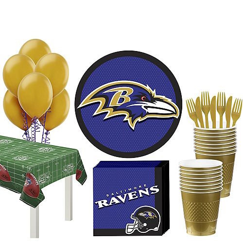 Super Baltimore Ravens Party Kit for 18 Guests f681c945f