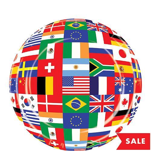 cca0d03b01c International Flag Dessert Plates 8ct