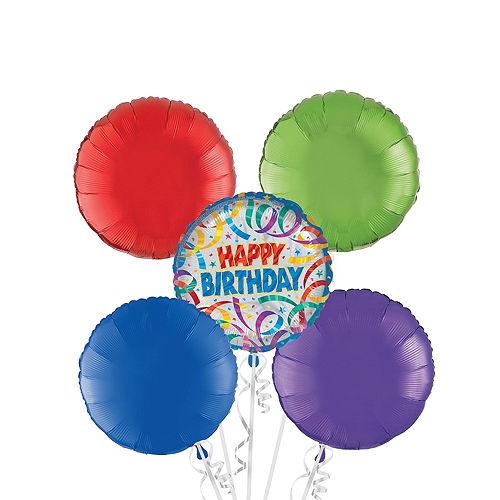 Happy Birthday Balloon Bouquet 5pc