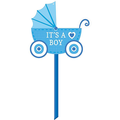 its a boy baby shower yard sign