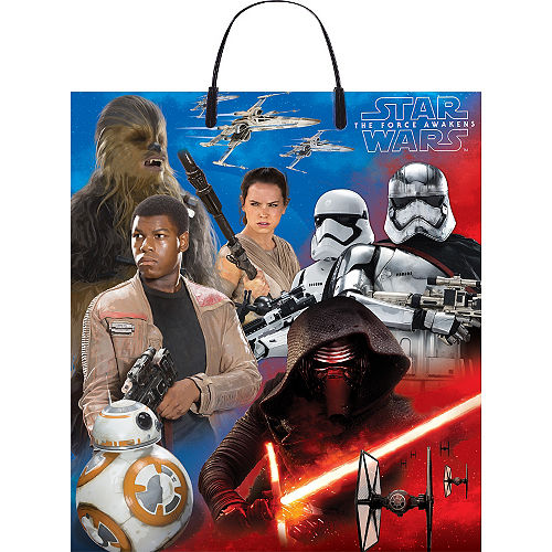 Star Wars 7 The Force Awakens Trick Or Treat Bag
