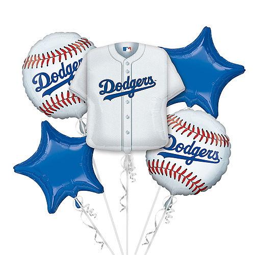 Los Angeles Dodgers Balloon Bouquet 5pc