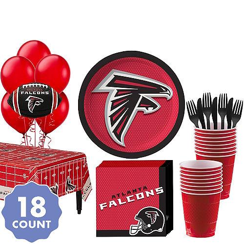 Super Atlanta Falcons Party Kit For 18 Guests