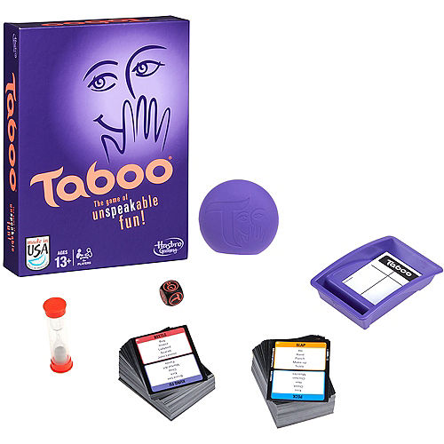 Taboo Game Party City