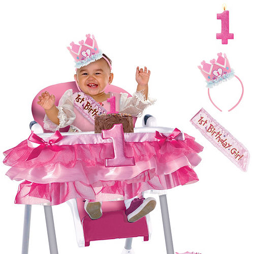 General Girl 1st Birthday Smash Cake Kit