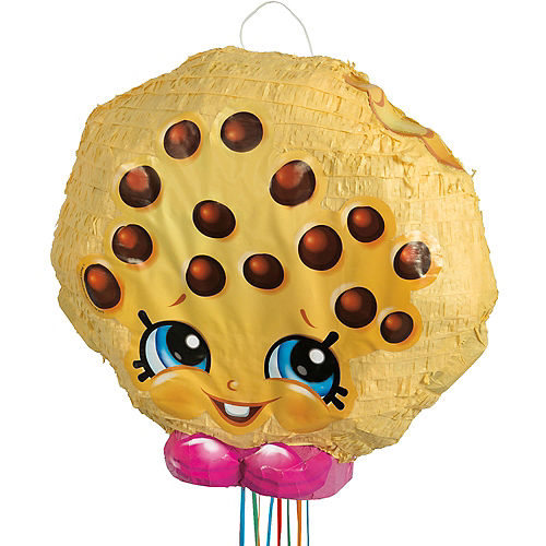 Pull String Kooky Cookie Pinata 17in x 16in - Shopkins | Party City