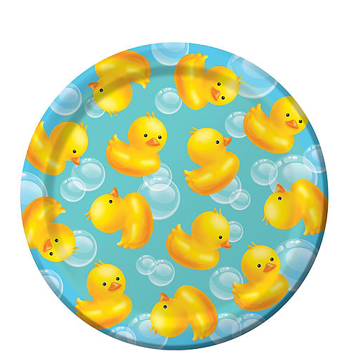 Bubble Bath Baby Shower Dessert Plates 8ct Party City
