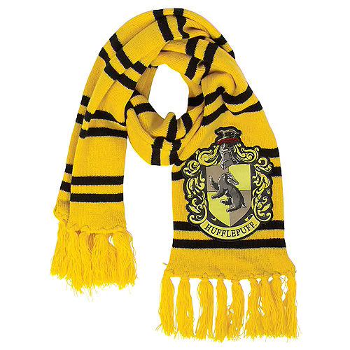 Hufflepuff Scarf 6 12in X 50in Harry Potter Party City