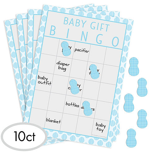 Fun Baby Shower Games Baby Shower Bingo Party City Canada