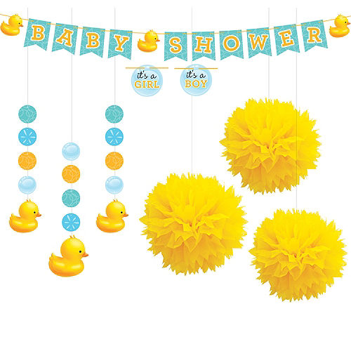 Rubber Ducky Baby Shower Supplies Party City