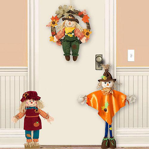 Welcome Scarecrow Door Decorating Kit
