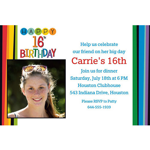 13th 16th 18th birthday supplies party city