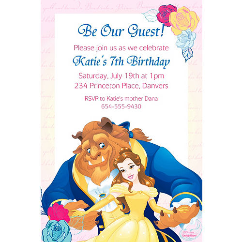 custom invitations personalized invitations party city