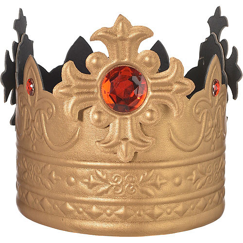 Adult king crown 7in x 24 34in party city adult king crown thecheapjerseys Image collections