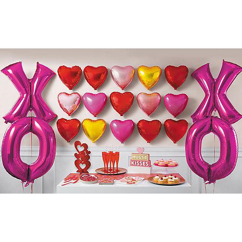 xoxo valentines day balloon kit