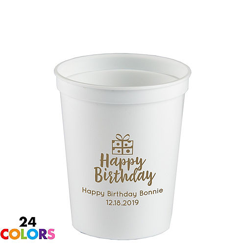 Personalized Cups | Personalized Tableware | Party City