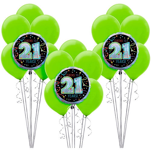 Brilliant 21st Birthday Balloon Kit