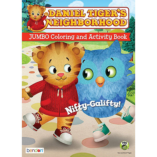 Daniel Tiger\'s Neighborhood Coloring & Activity Book 7 3/4in x 10 3 ...