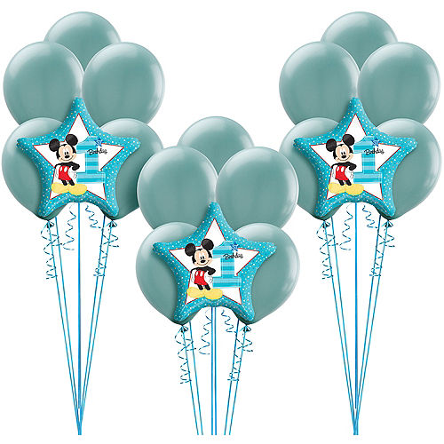 1st Birthday Mickey Mouse Balloon Kit