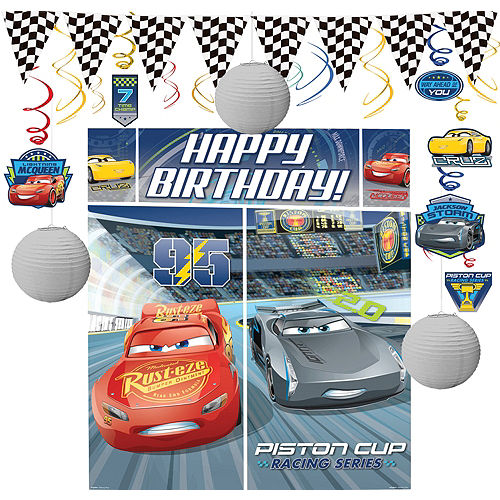Cars 3 Decorating Kit